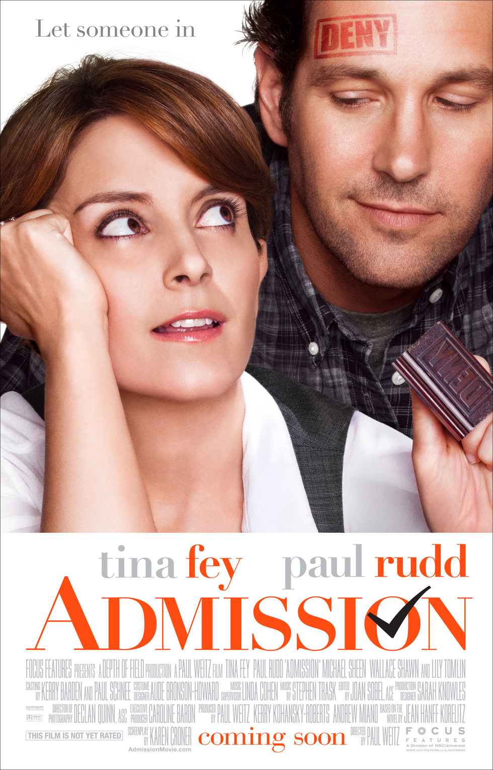 Admission - Movie Poster #1 (Large)