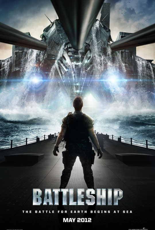 Battleship - Movie Poster #1 (Original)