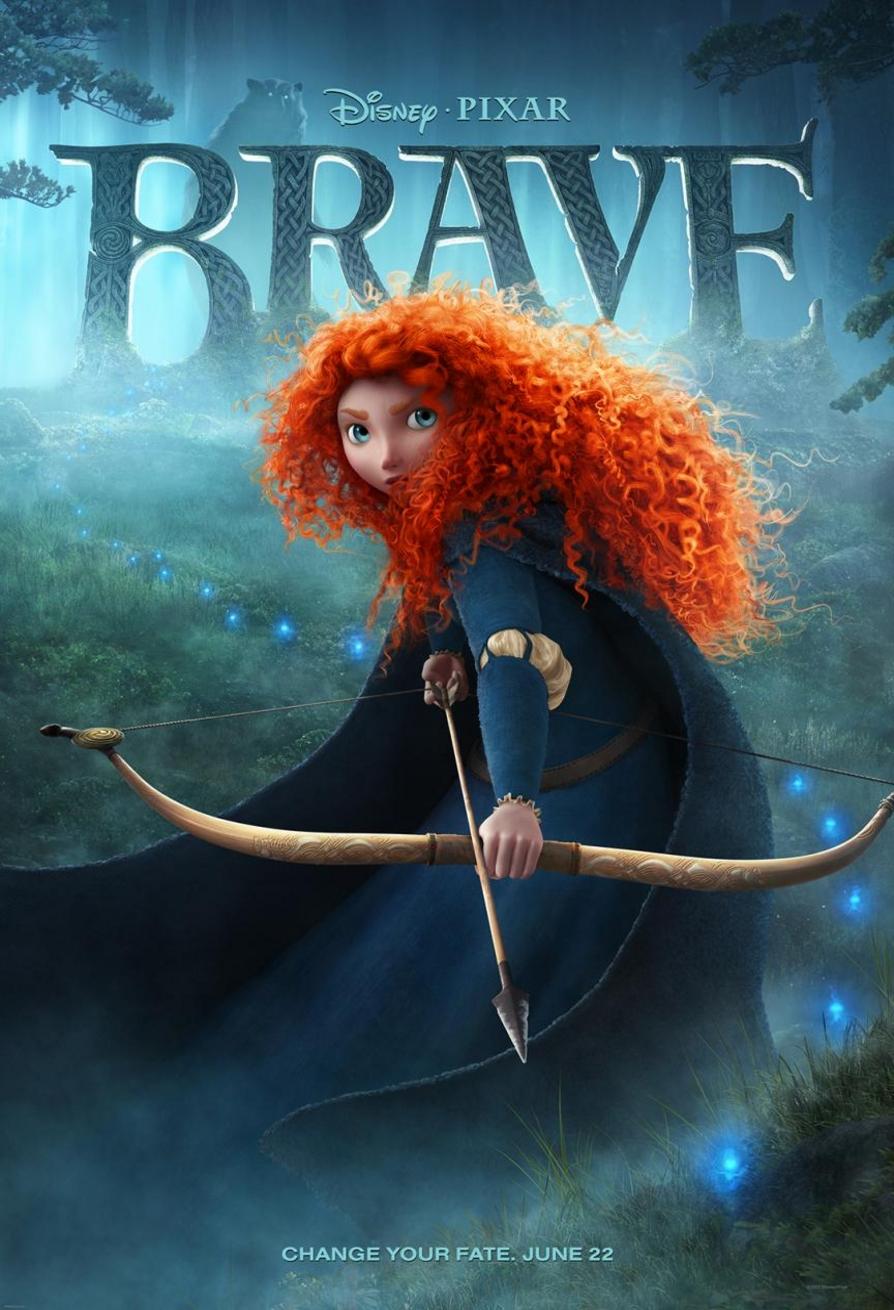 Brave - Movie Poster #1 (Original)
