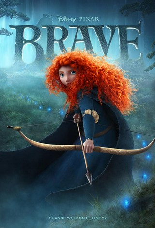 Brave - Movie Poster #1 (Small)