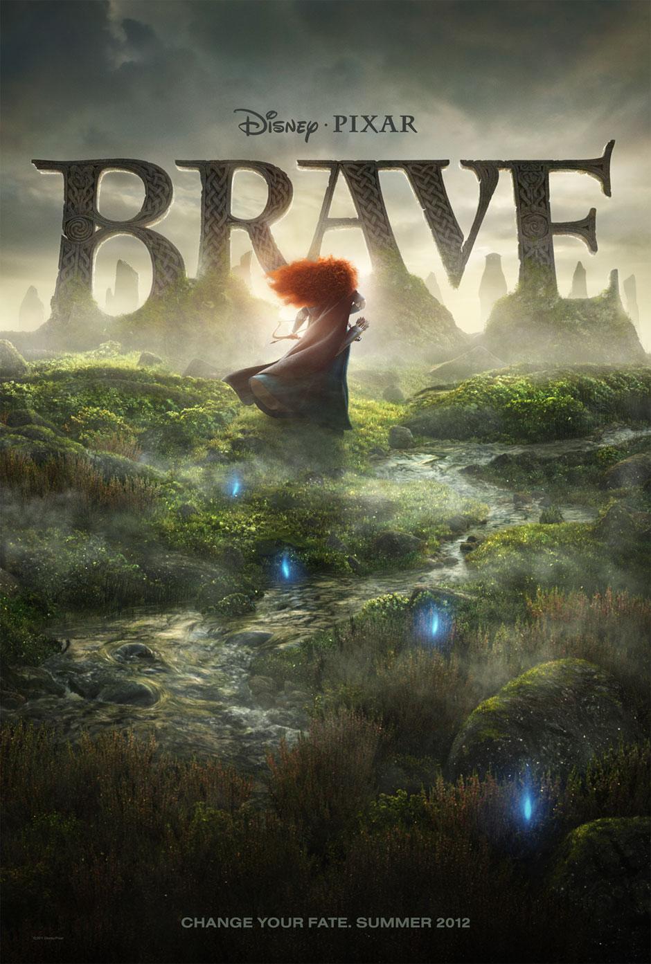 Brave - Movie Poster #2 (Original)