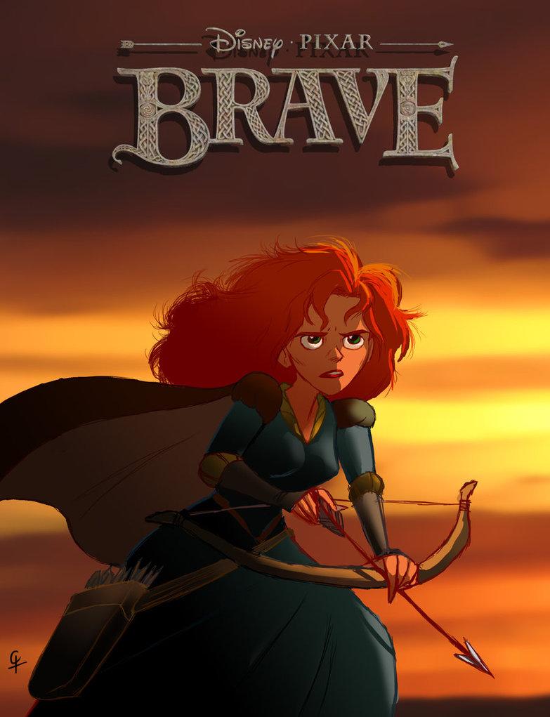 Brave - Movie Poster #3 (Original)