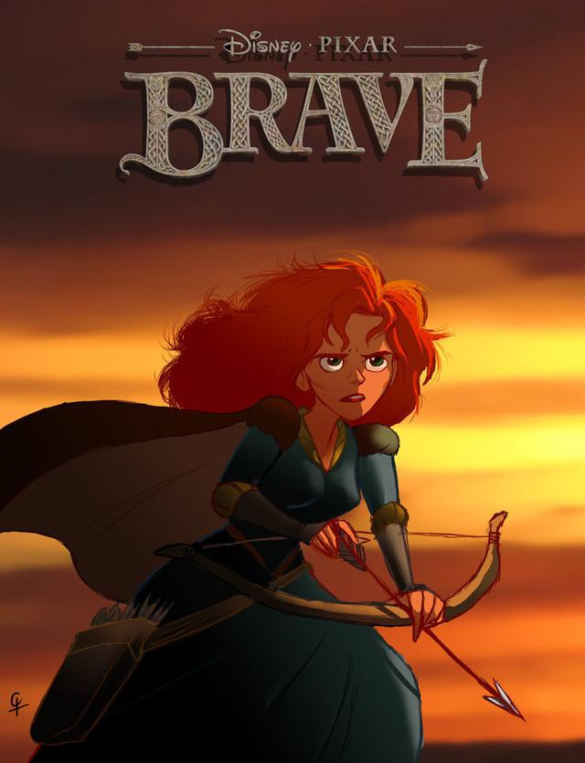Brave - Movie Poster #3