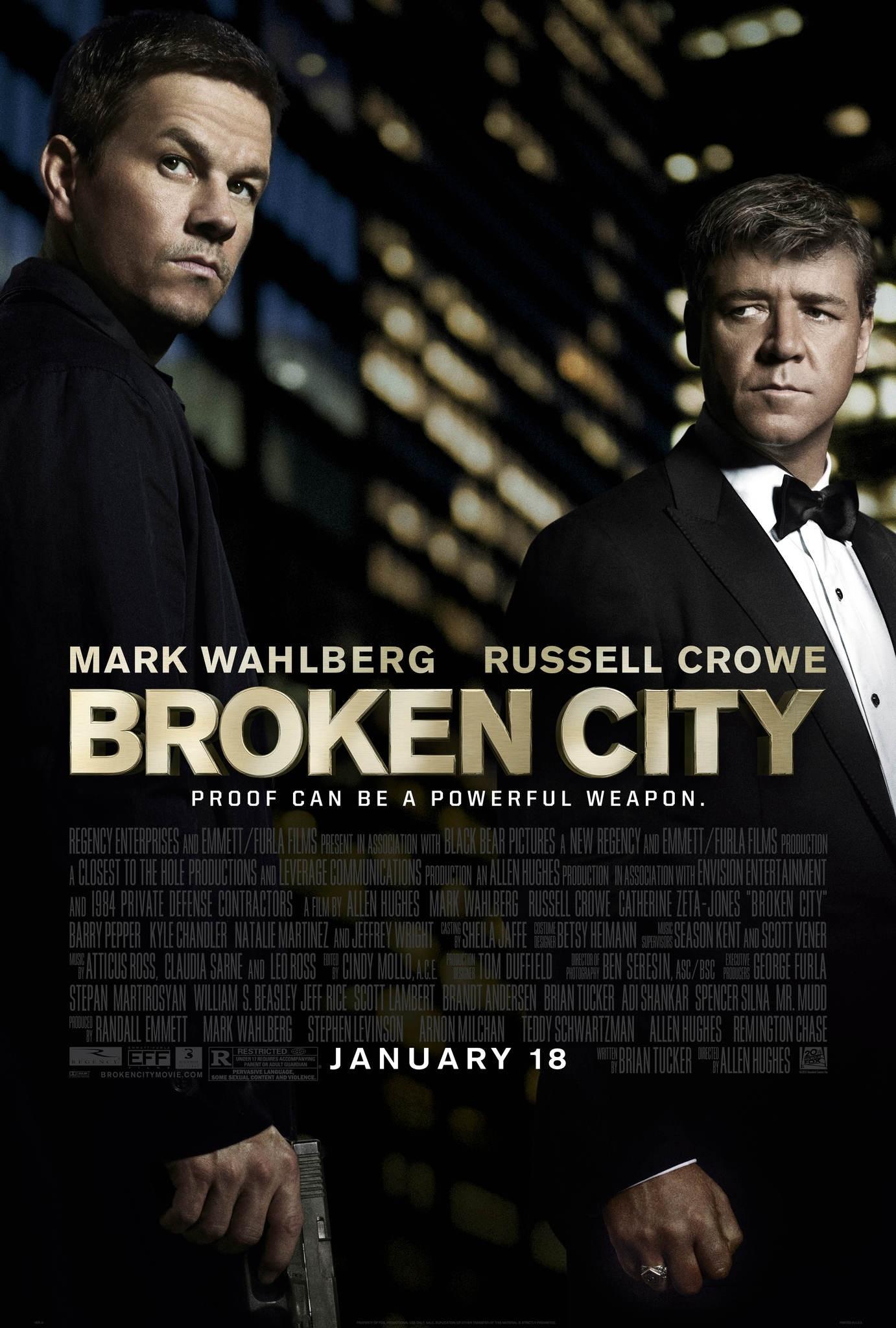 Broken City - Movie Poster #1 (Original)