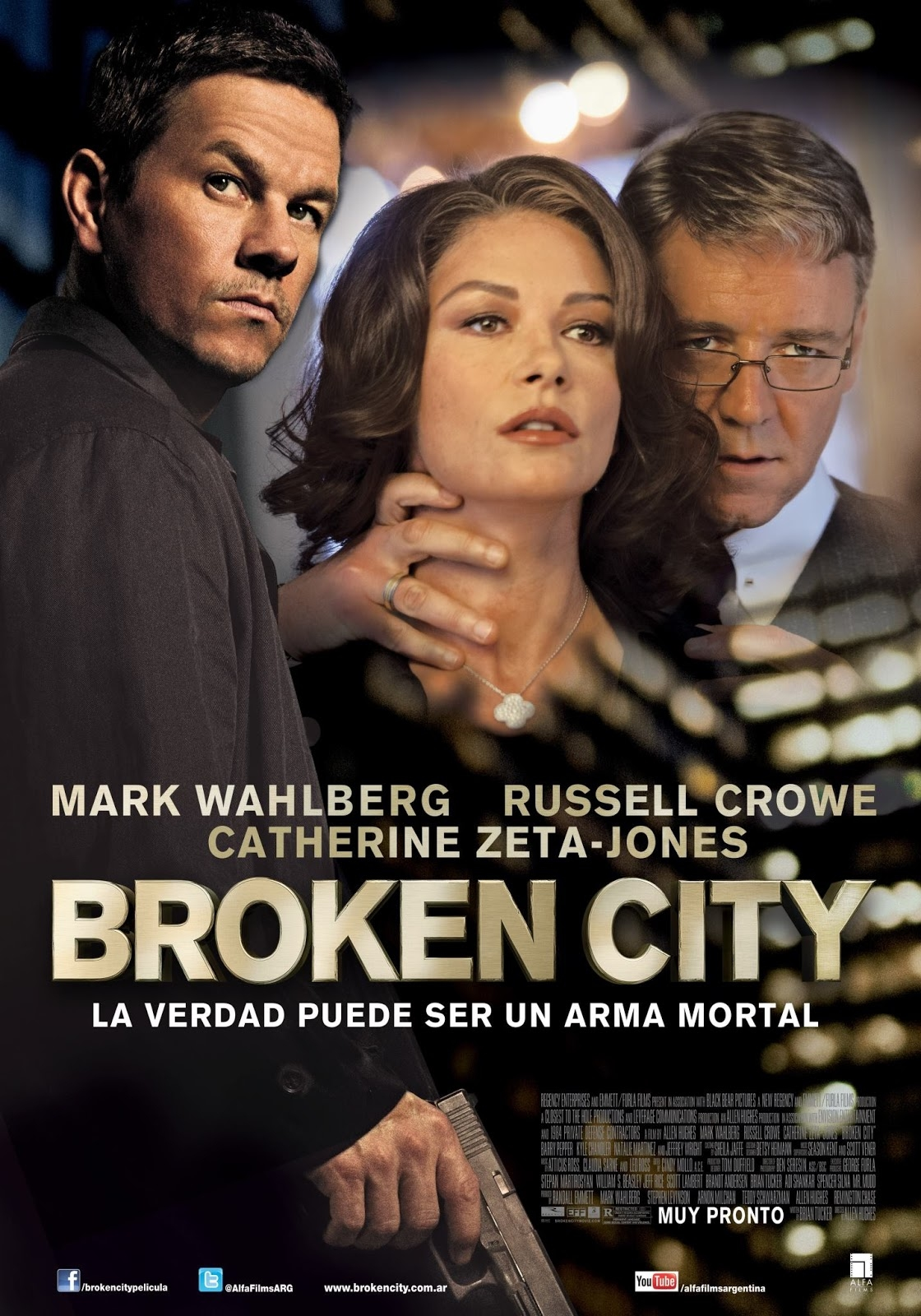Broken City - Movie Poster #2 (Original)