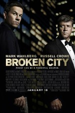 Broken City Small Poster