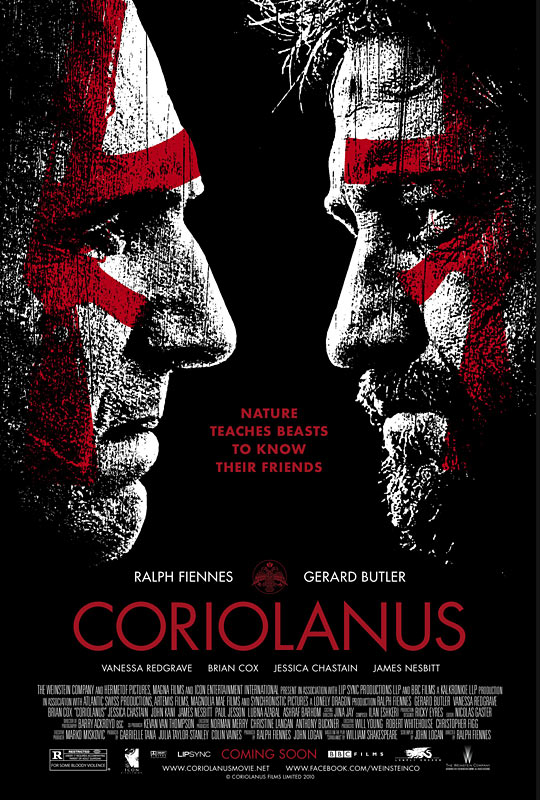 Coriolanus - Movie Poster #1 (Original)