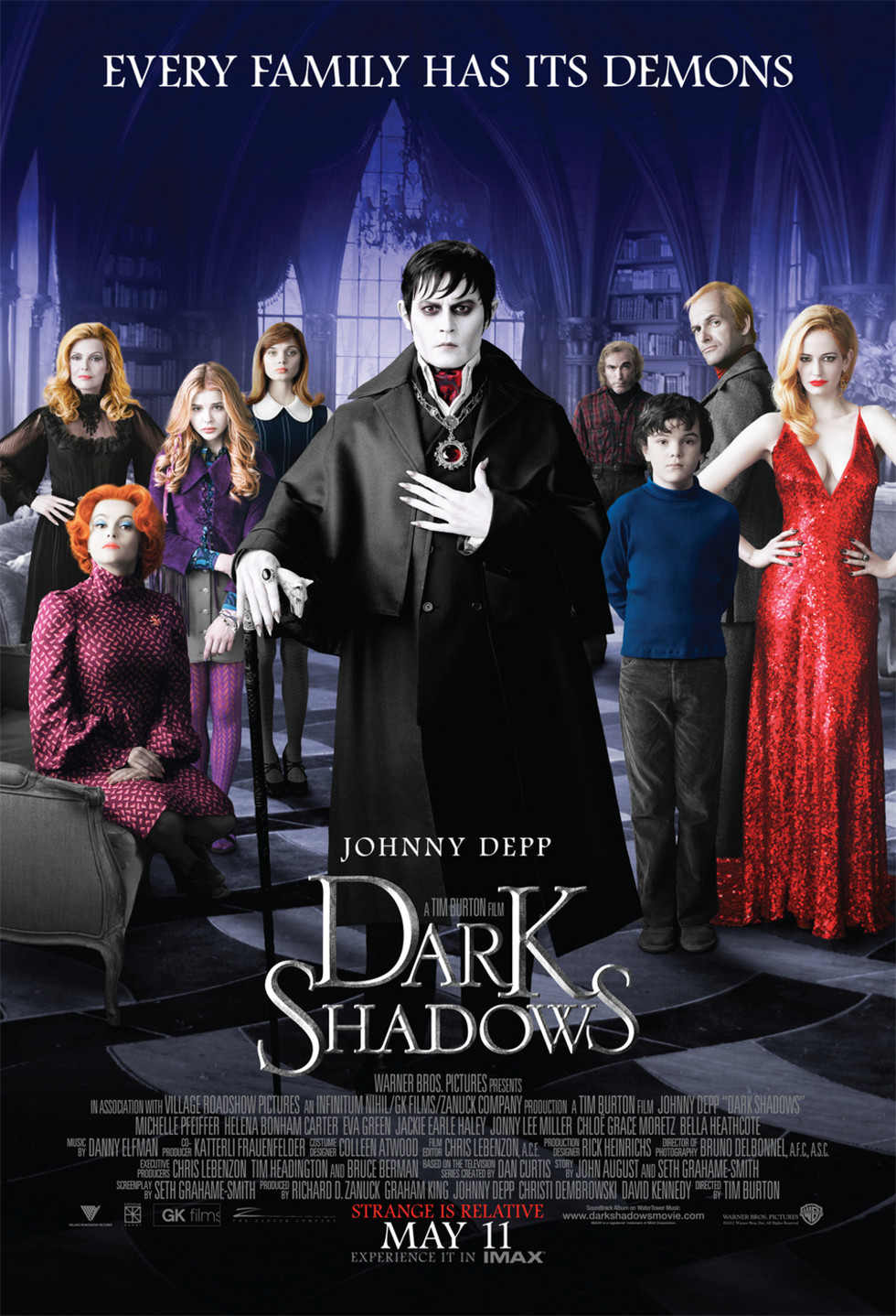 Dark Shadows - Movie Poster #1 (Large)