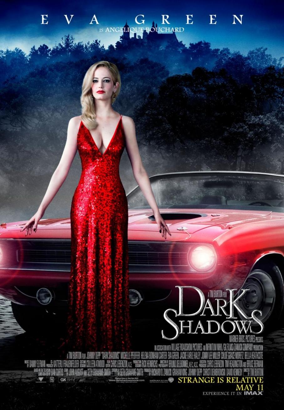 Dark Shadows - Movie Poster #2 (Original)