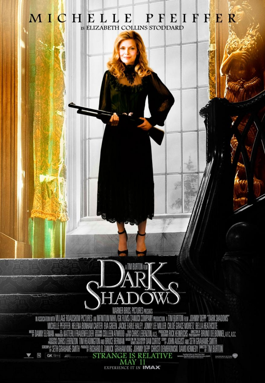 Dark Shadows - Movie Poster #3 (Original)