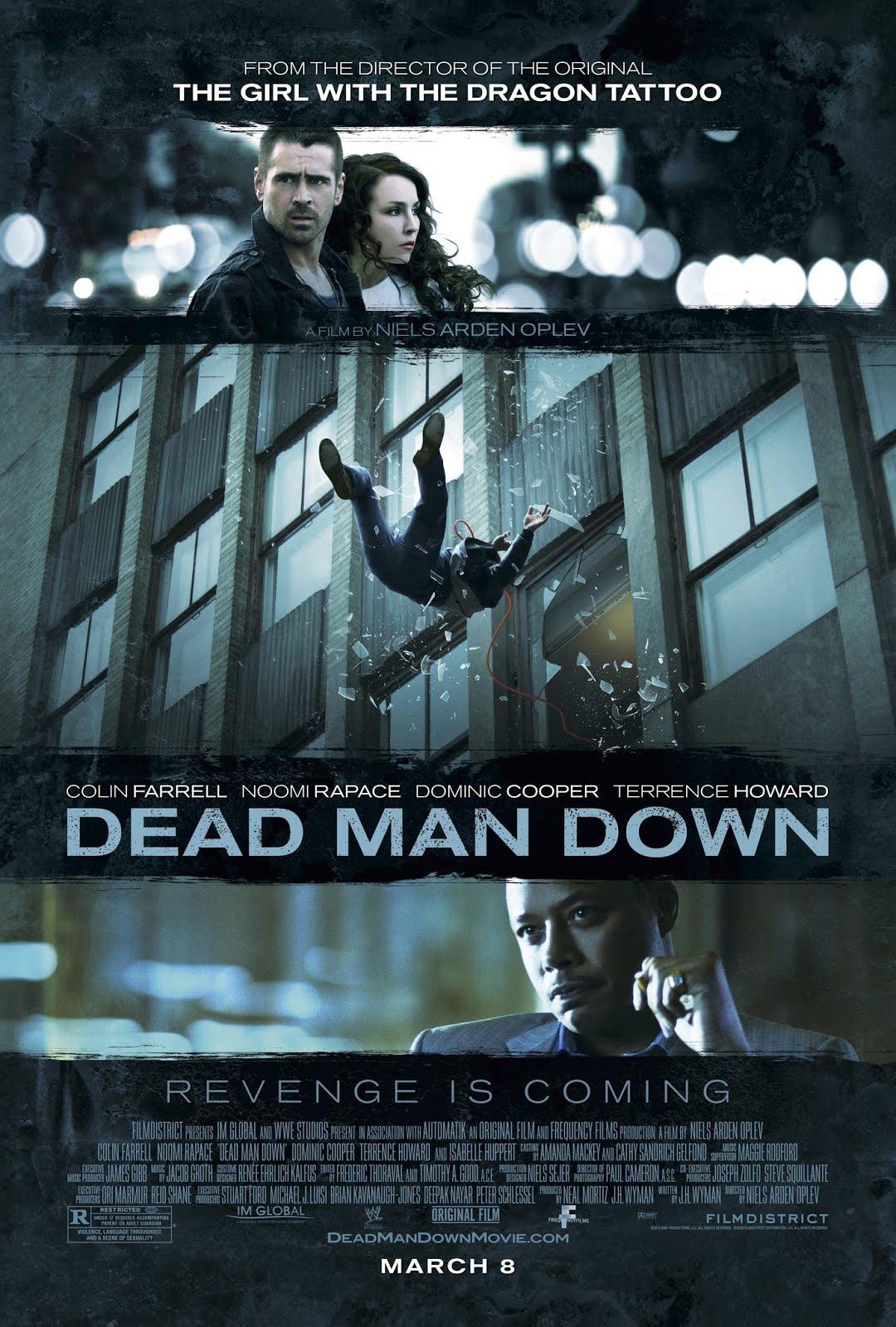 Dead Man Down - Movie Poster #3 (Original)