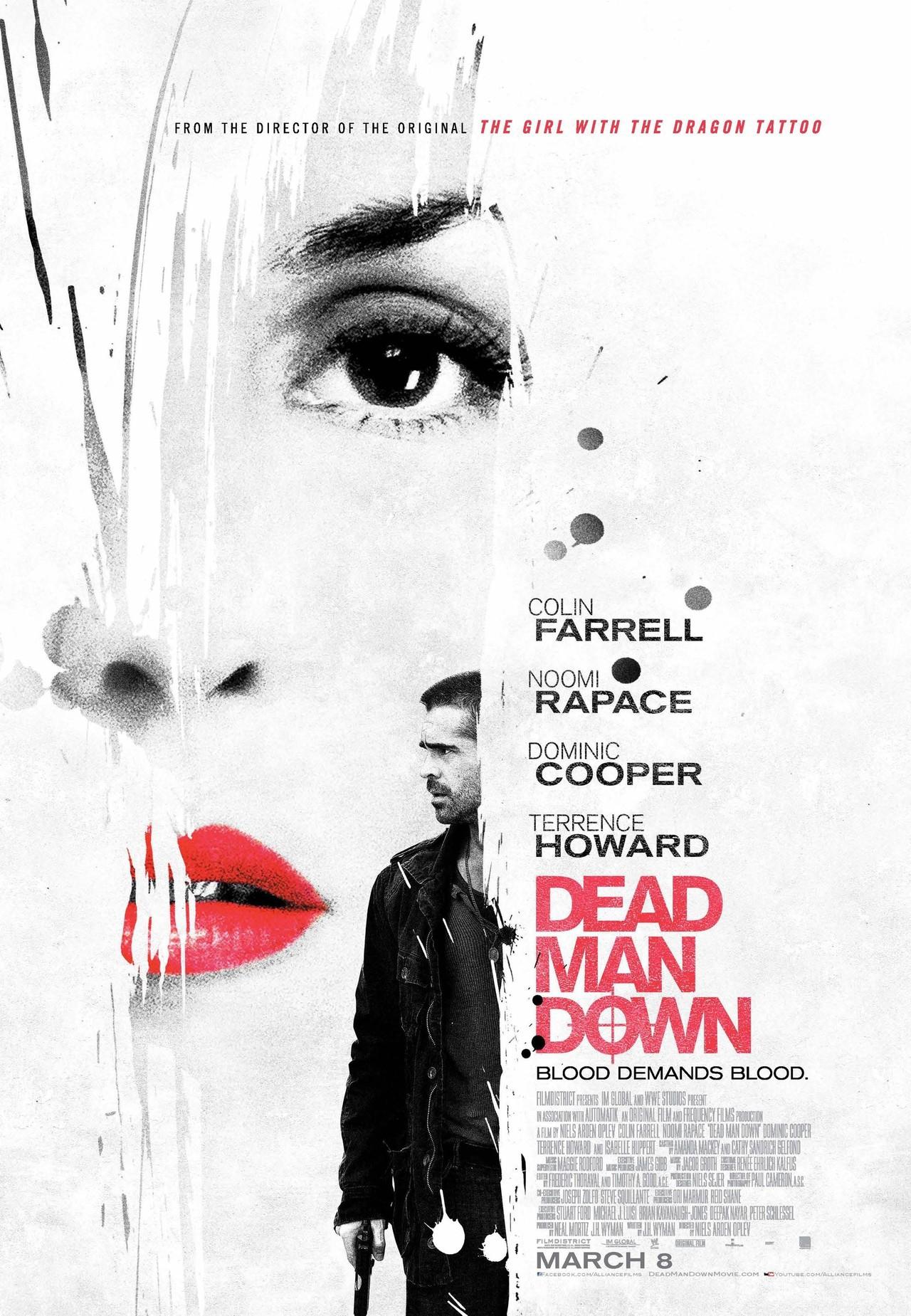 Dead Man Down - Movie Poster #6 (Original)