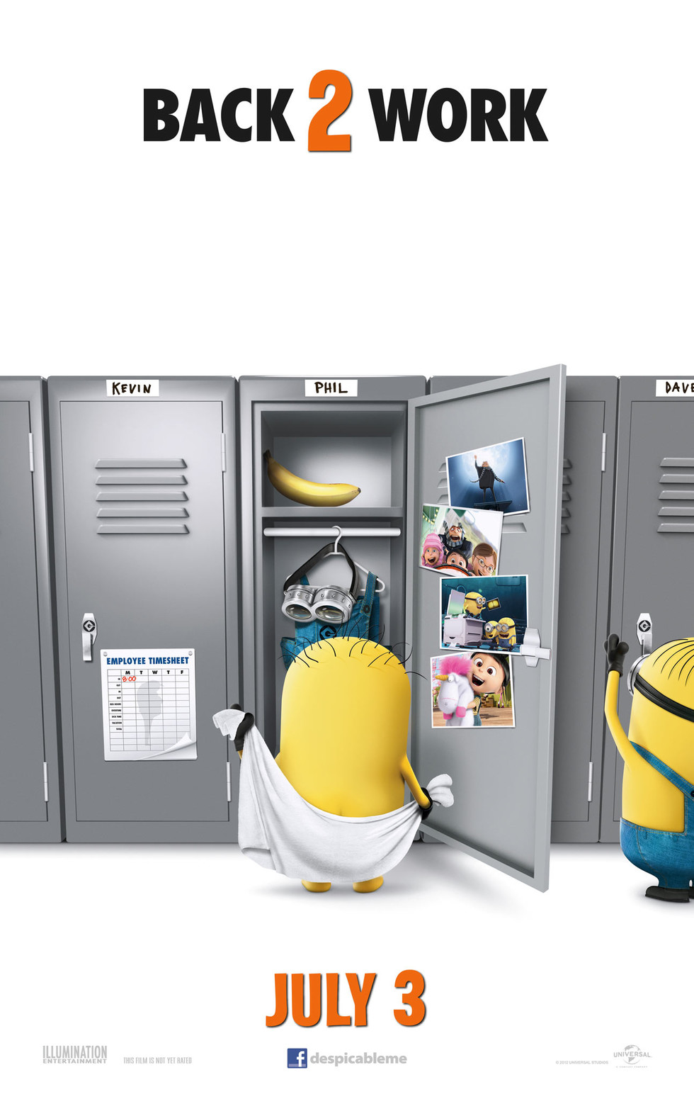 Despicable Me 2 - Movie Poster #1 (Large)