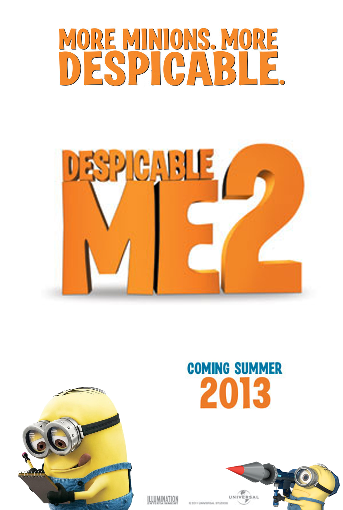 Despicable Me 2 - Movie Poster #4 (Original)