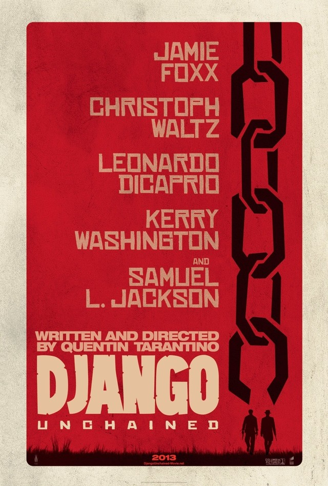 Django Unchained - Movie Poster #1 (Medium)