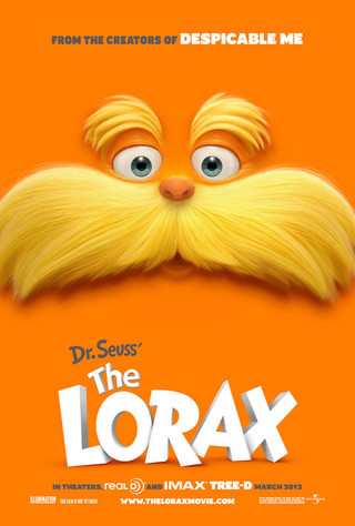 Dr. Seuss' The Lorax - Movie Poster #1