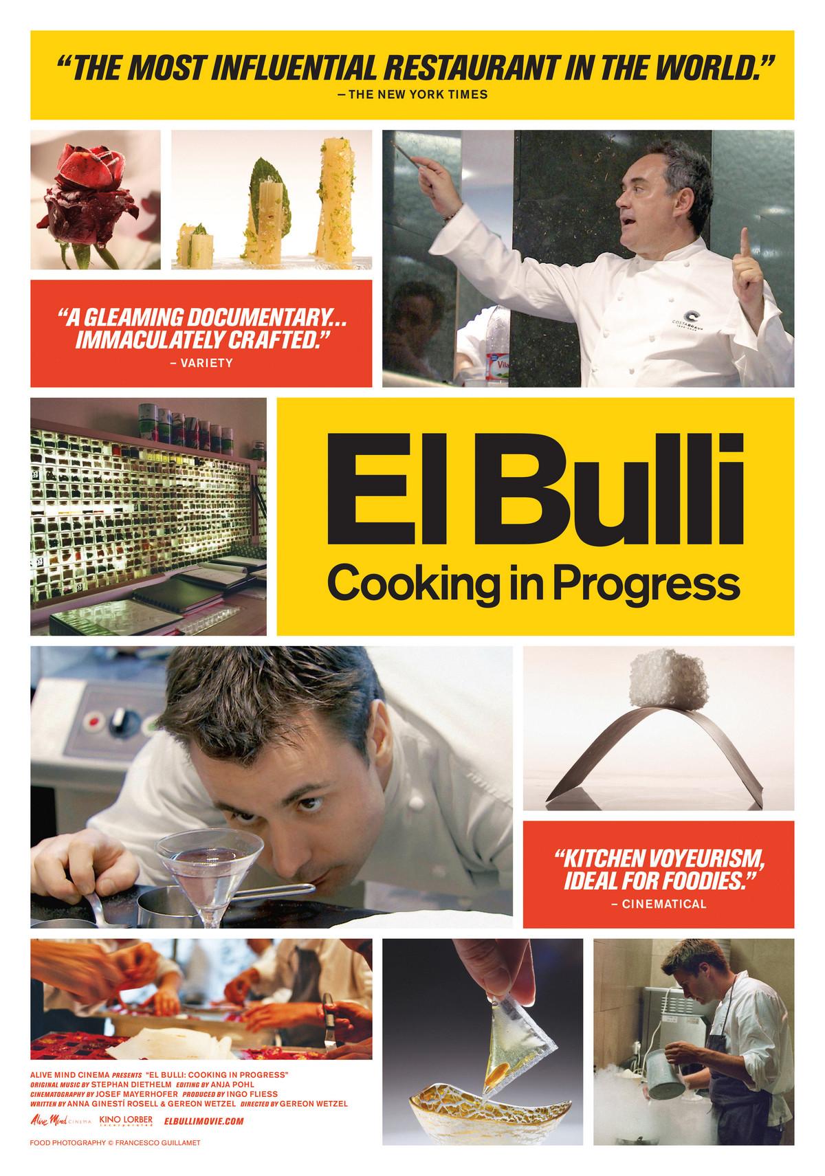 El Bulli: Cooking in Progress - Movie Poster #1 (Original)