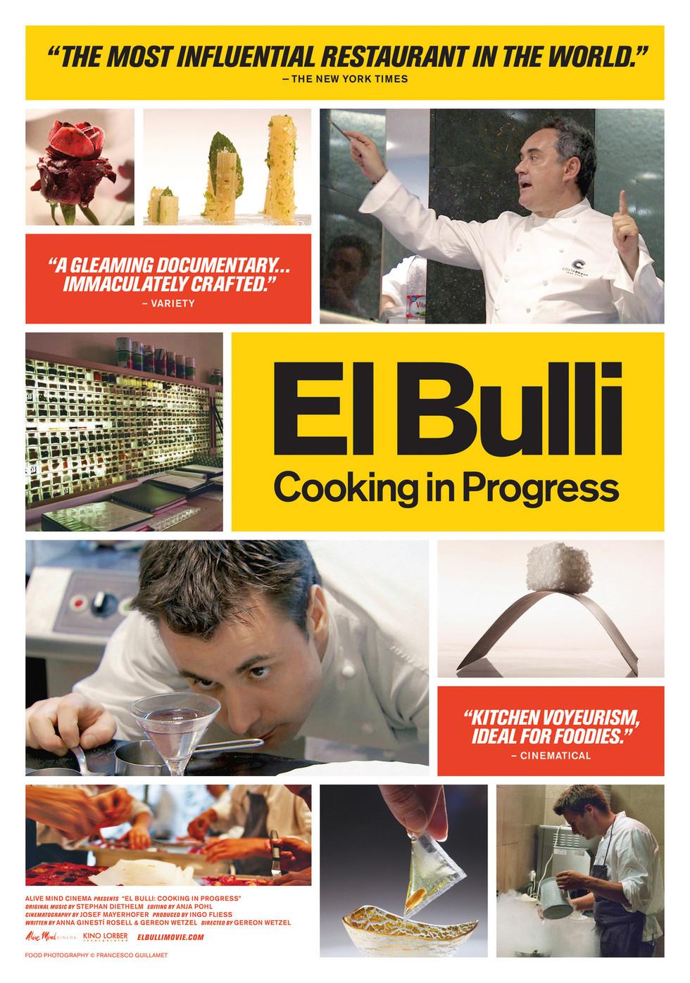 El Bulli: Cooking in Progress - Movie Poster #1 (Large)