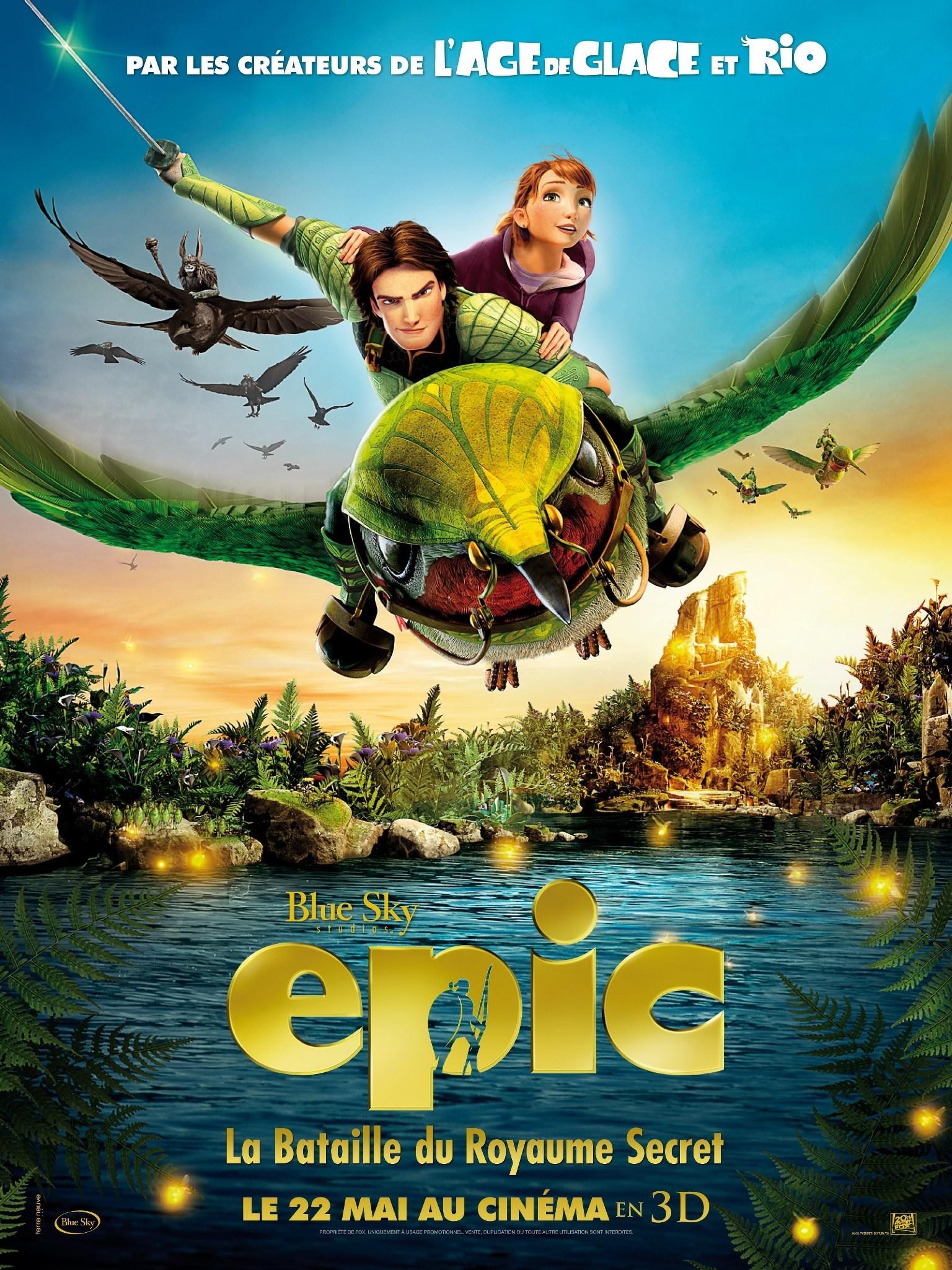 Epic - Movie Poster #11 (Original)