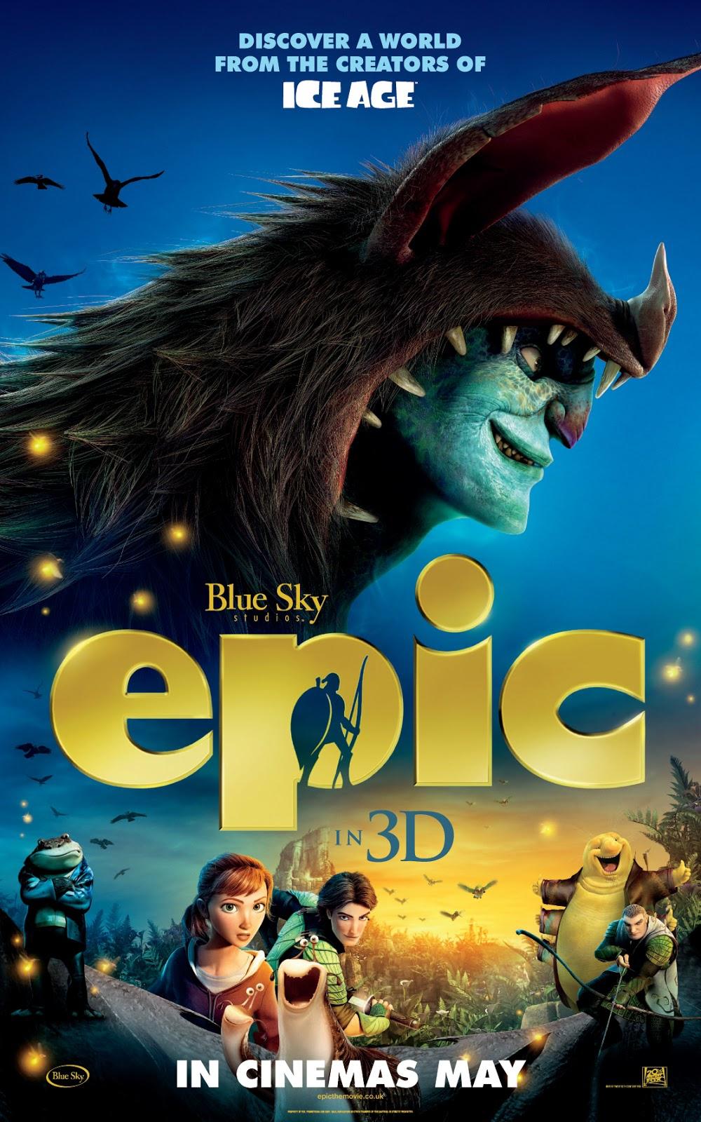 Epic - Movie Poster #6 (Original)