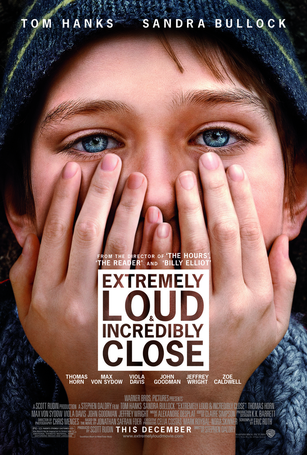 Extremely Loud & Incredibly Close - Movie Poster #1 (Large)