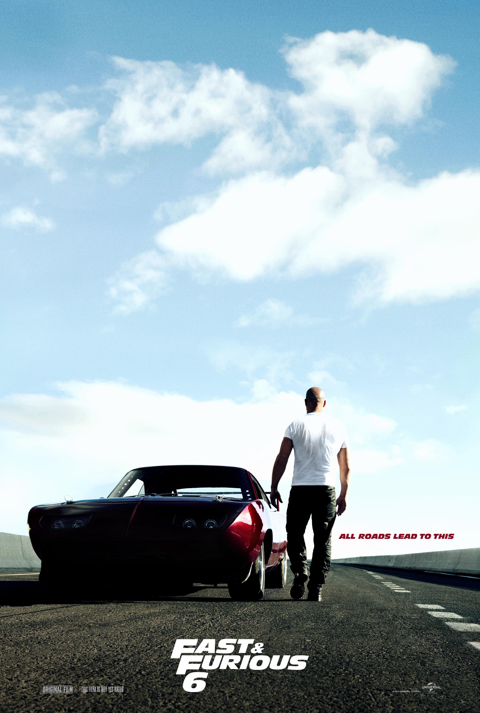 Fast & Furious 6 - Movie Poster #1 (Original)