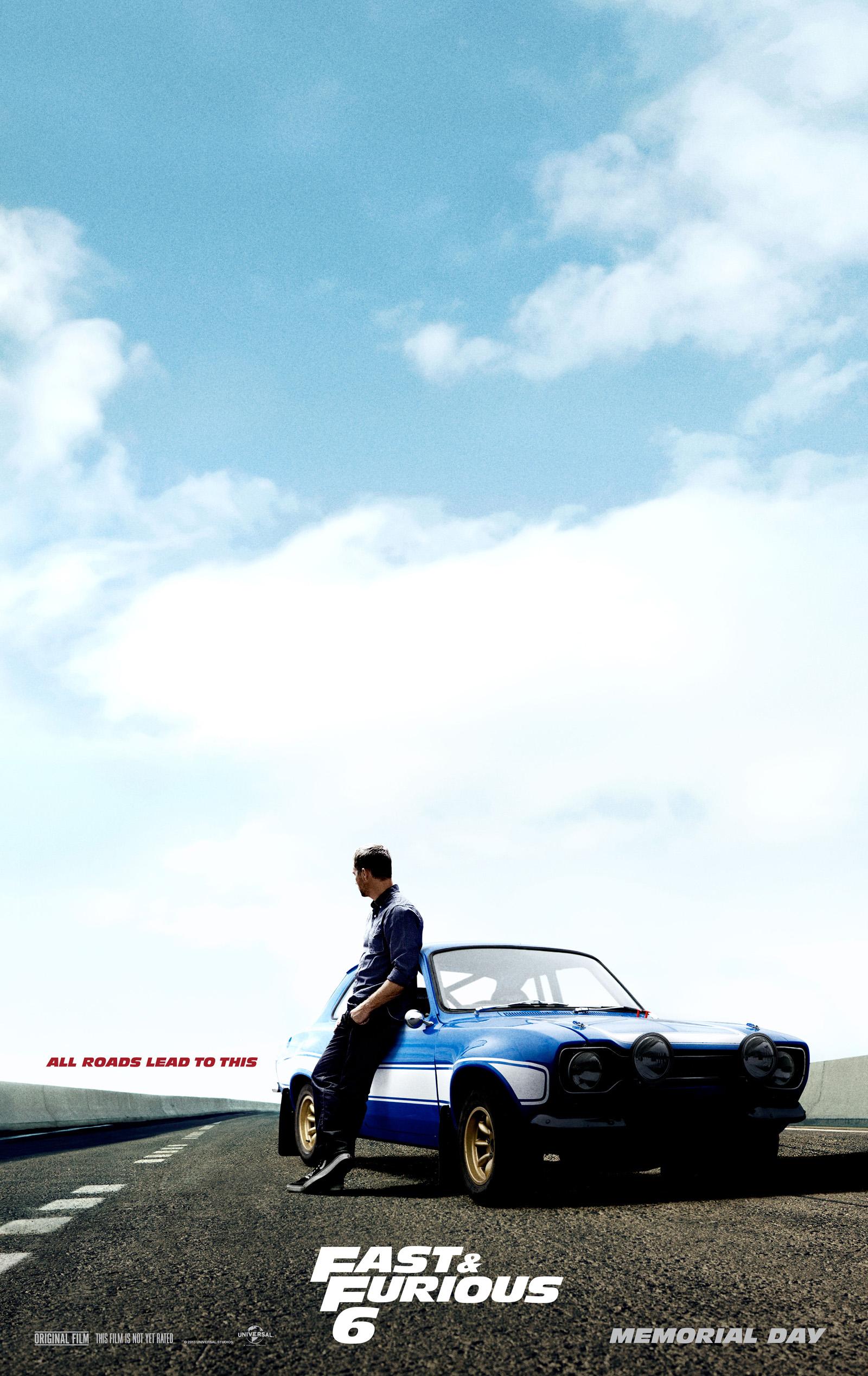Fast & Furious 6 - Movie Poster #2 (Original)