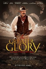 For Greater Glory Small Poster