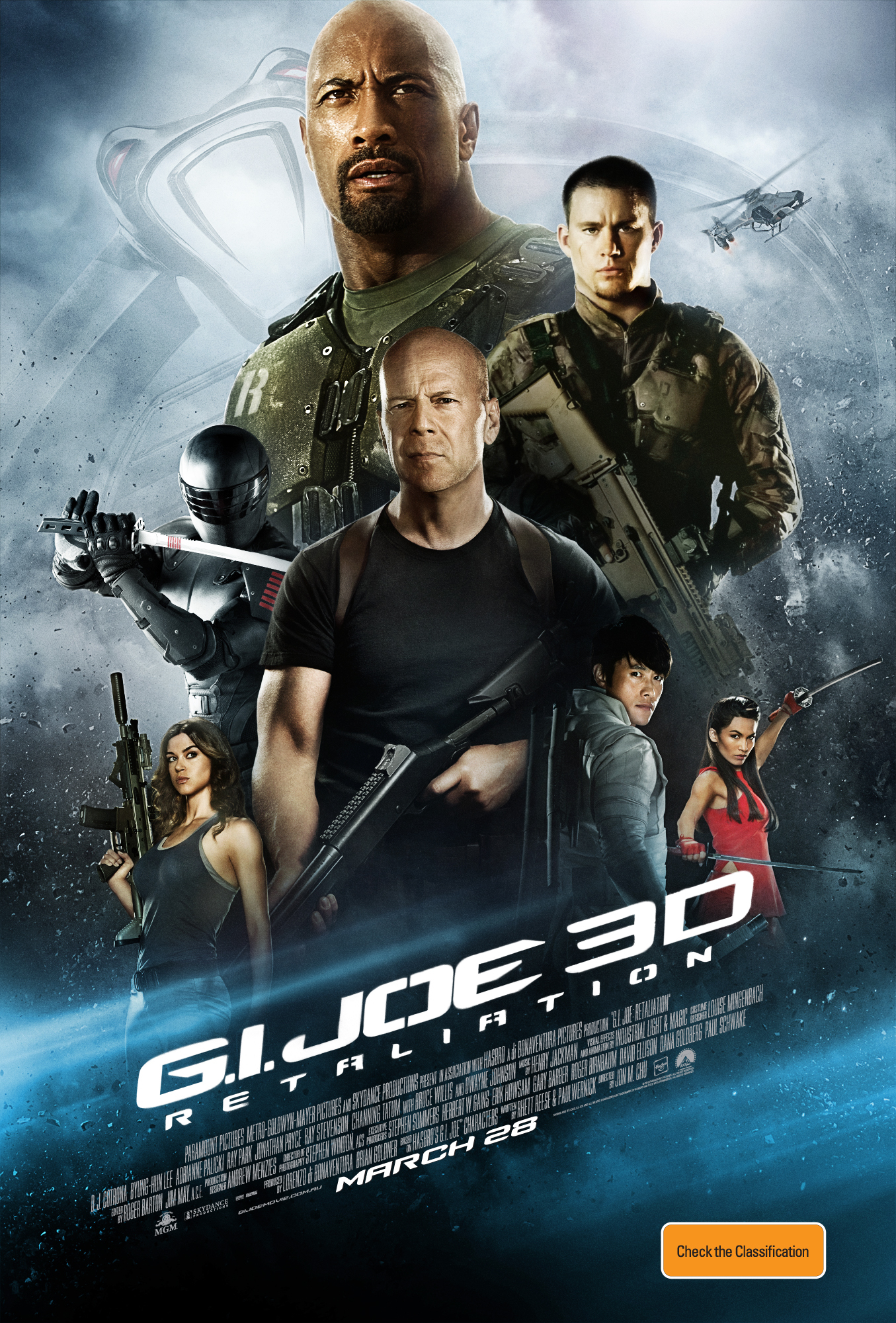 G.I. Joe: Retaliation - Movie Poster #14 (Original)