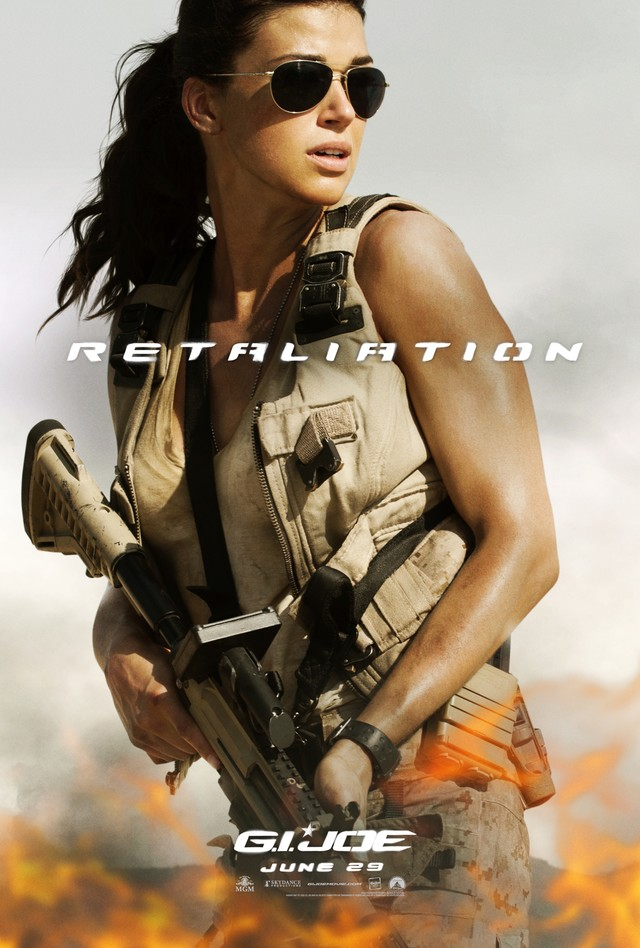 G.I. Joe: Retaliation - Movie Poster #8