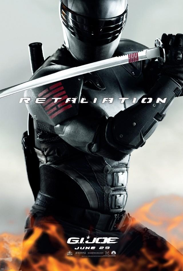 G.I. Joe: Retaliation - Movie Poster #9