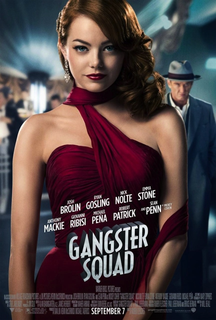 Gangster Squad - Movie Poster #2 (Original)