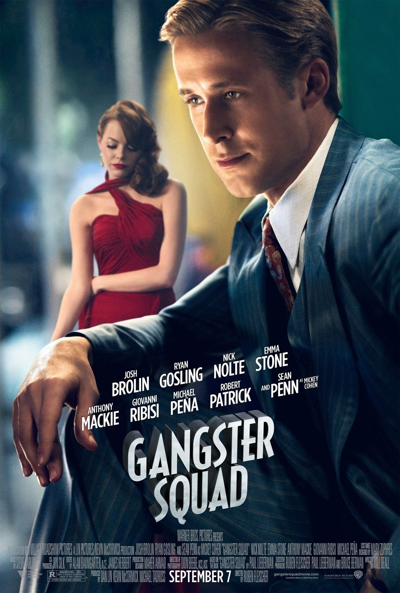 Gangster Squad - Movie Poster #4 (Original)