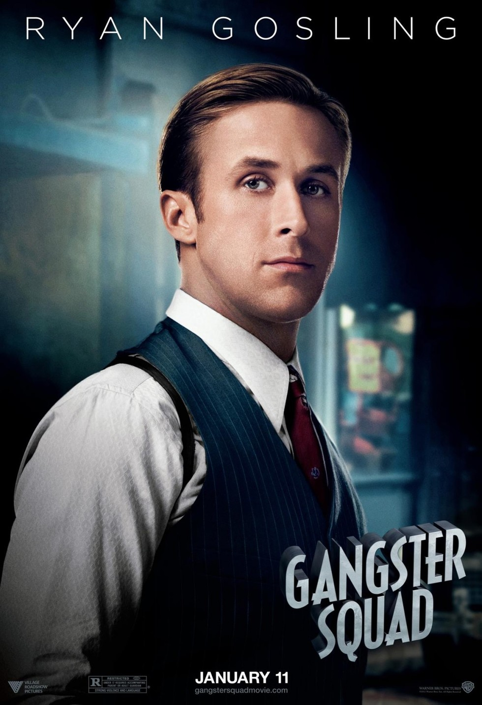 Gangster Squad - Movie Poster #5 (Large)