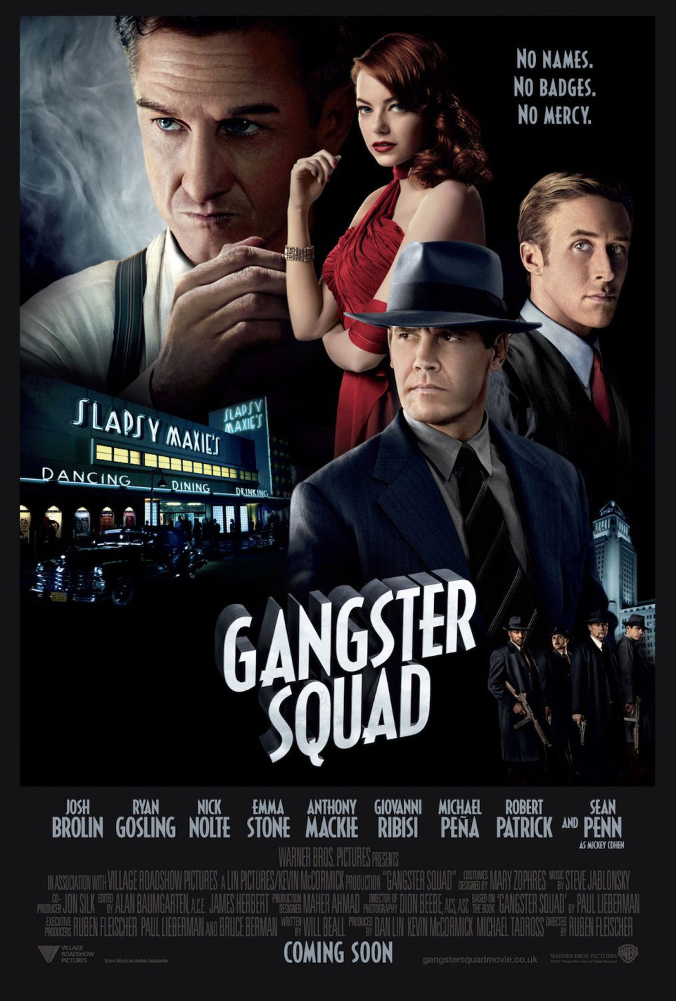 Gangster Squad - Movie Poster #8 (Large)