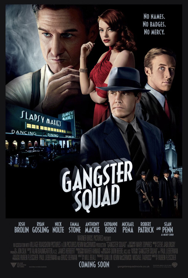 Gangster Squad - Movie Poster #8