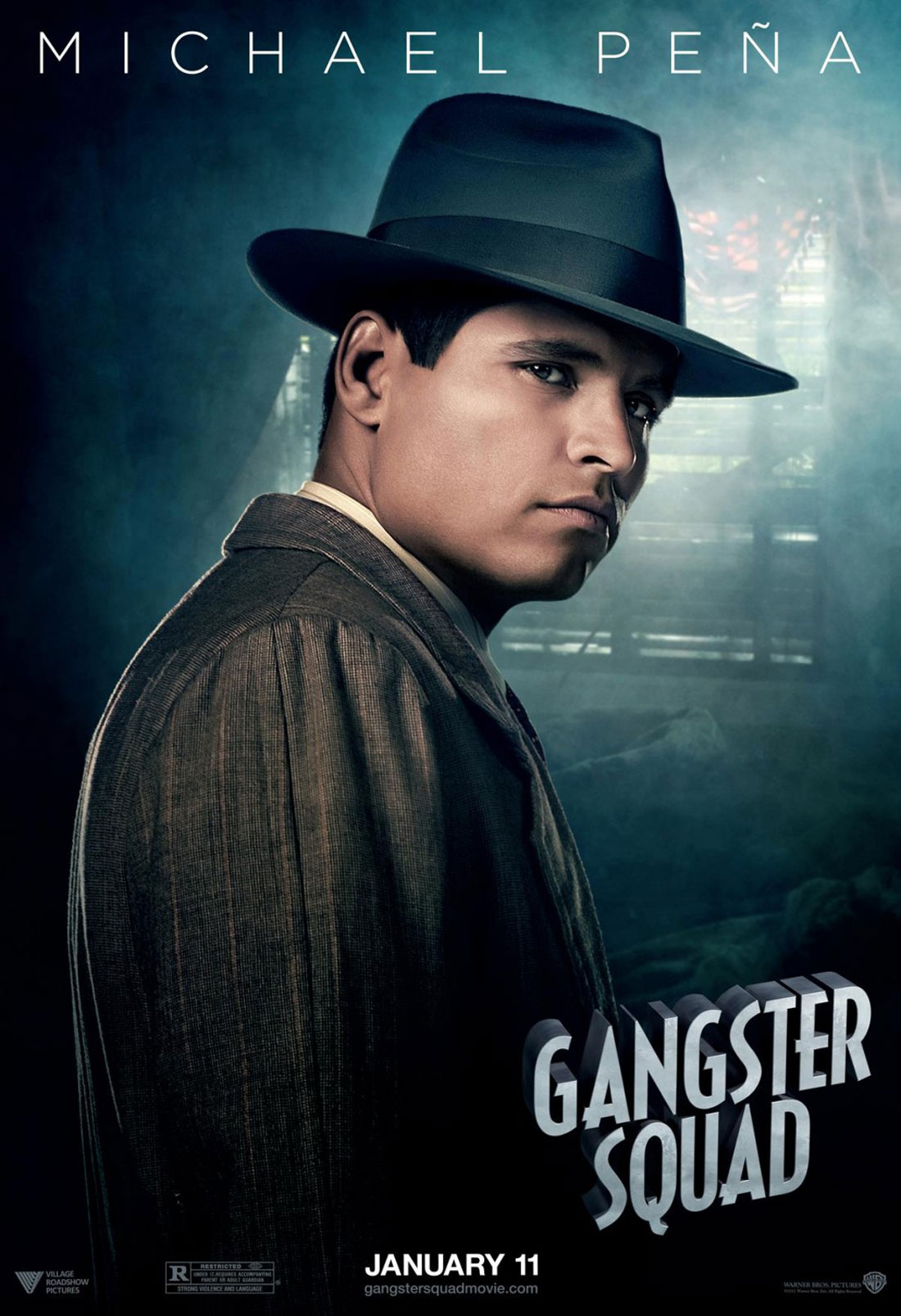 Gangster Squad - Movie Poster #9 (Original)