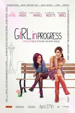 Girl in Progress Small Poster