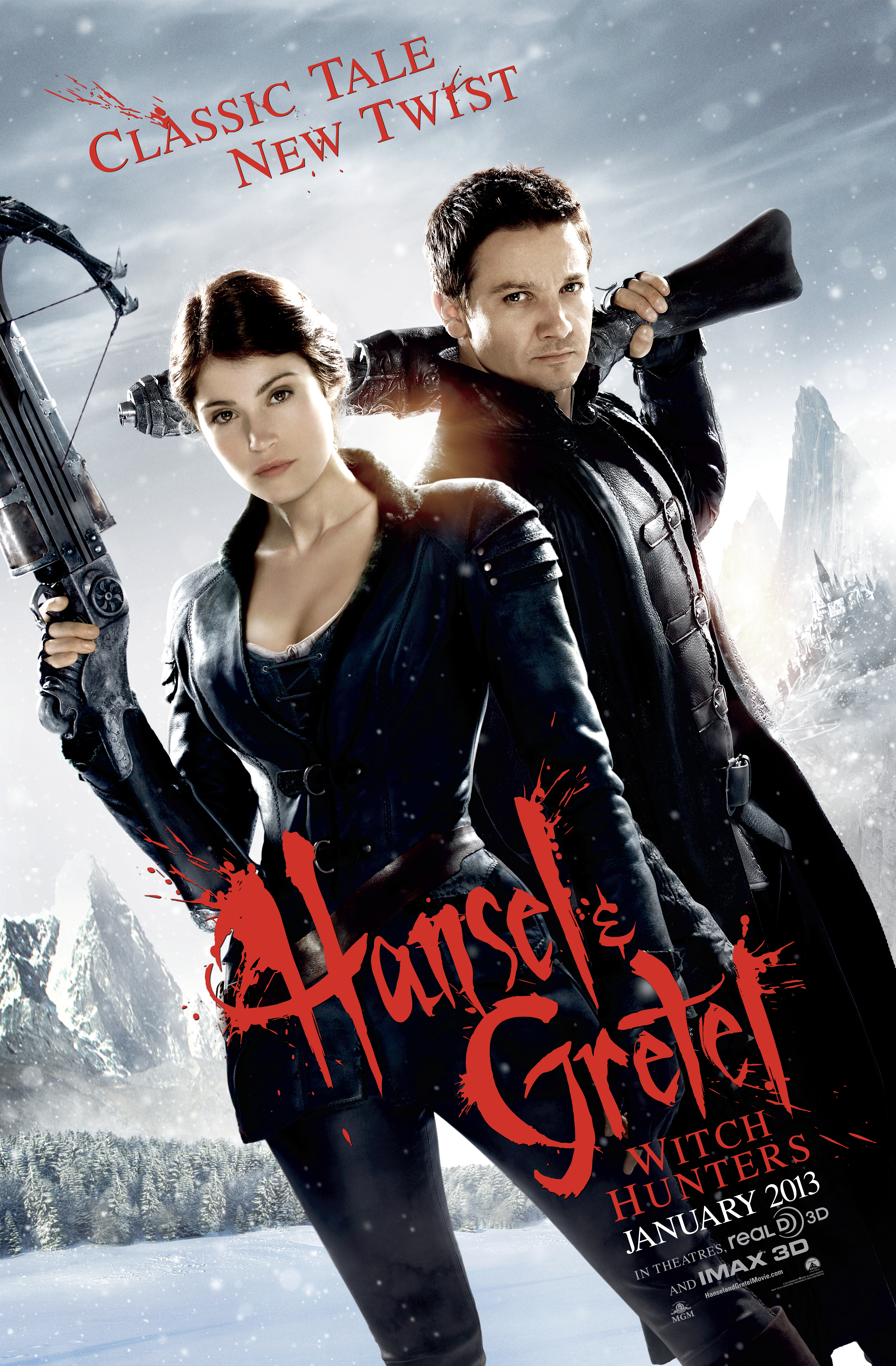 Hansel & Gretel: Witch Hunters - Movie Poster #1 (Original)