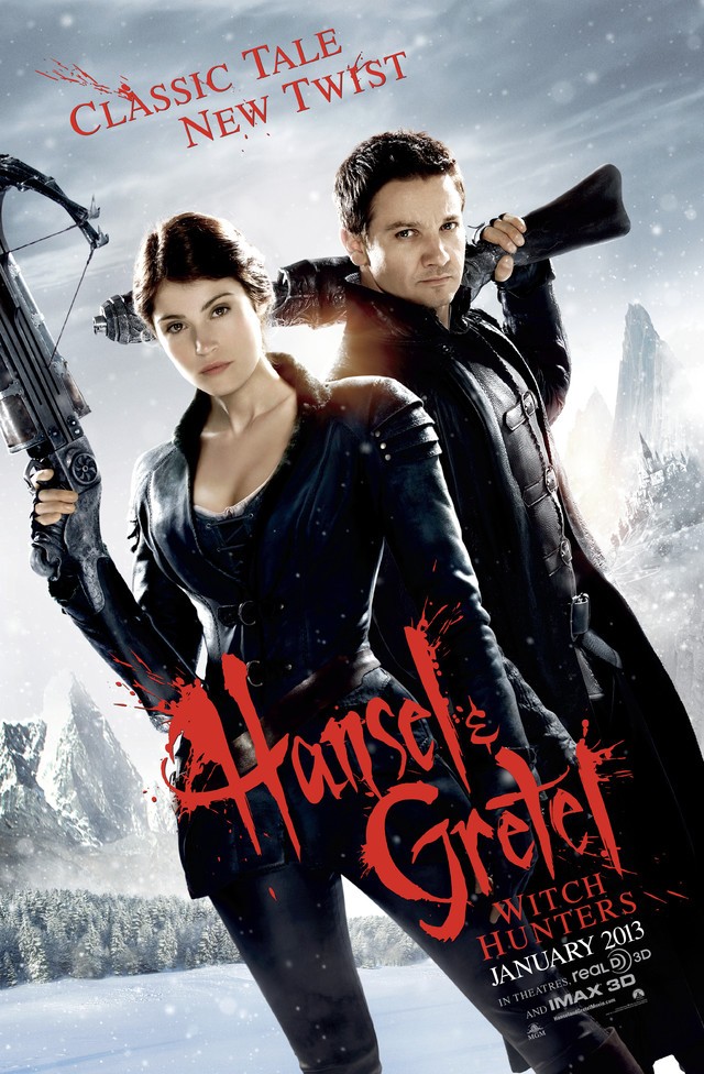 Hansel & Gretel: Witch Hunters - Movie Poster #1