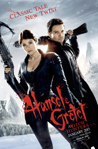Hansel & Gretel: Witch Hunters - Movie Poster #1 (Small)