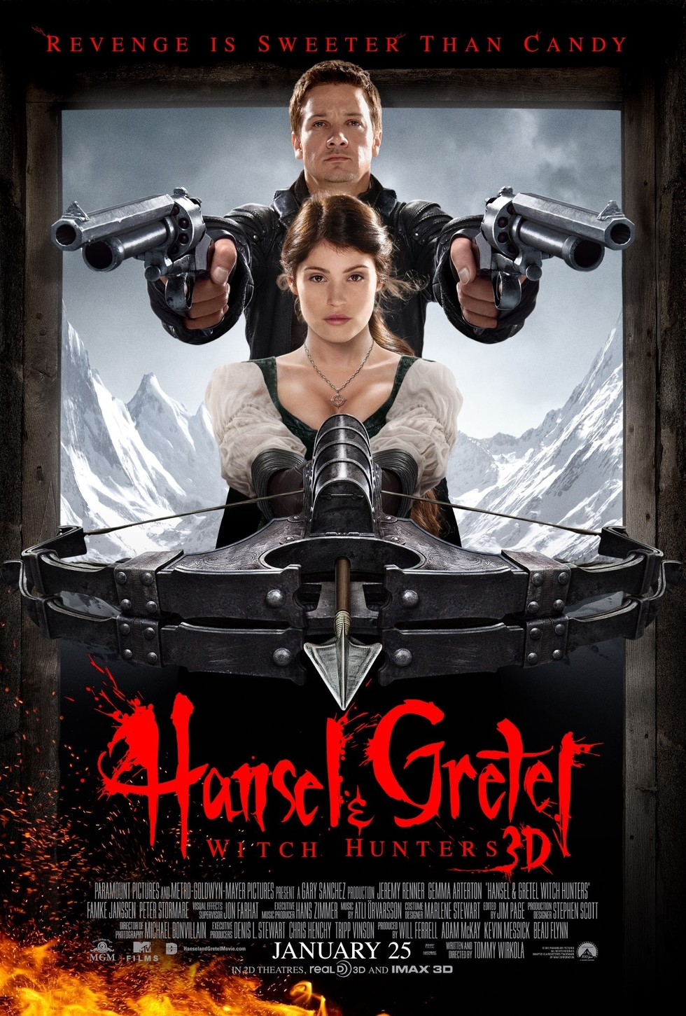 Hansel & Gretel: Witch Hunters - Movie Poster #2 (Large)