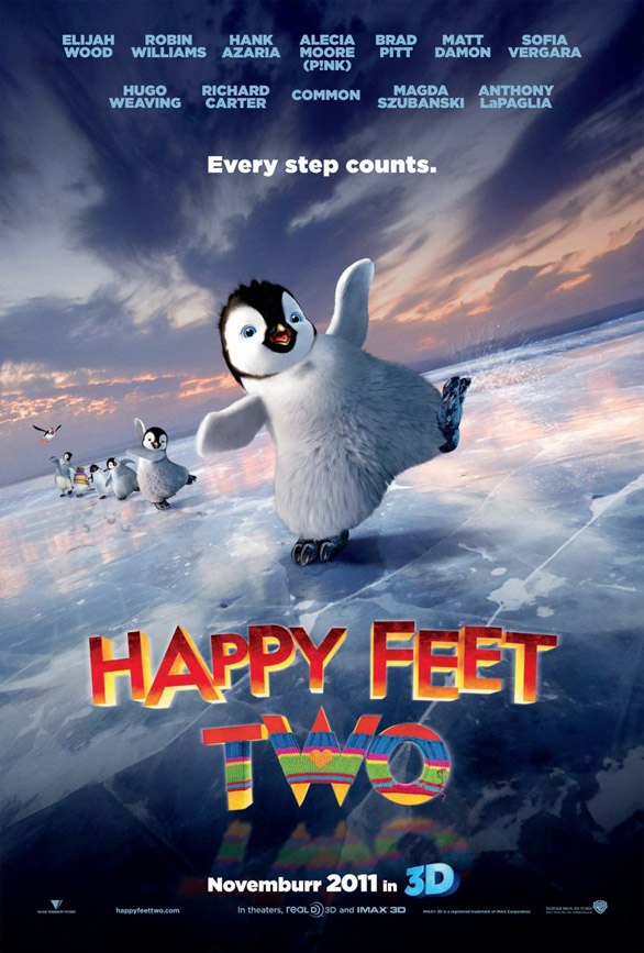 Happy Feet Two - Movie Poster #1 (Original)