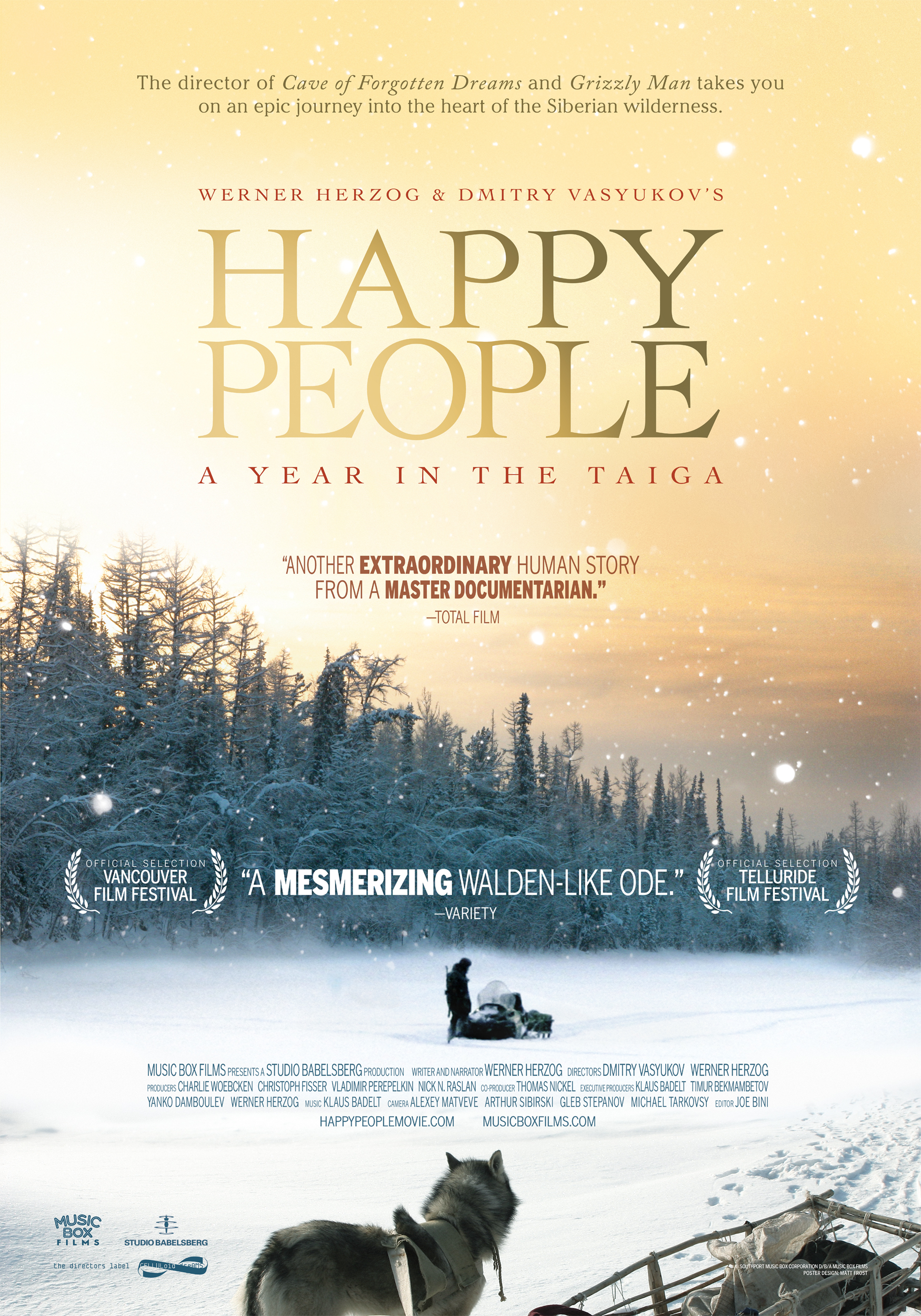 Happy People - Movie Poster #1 (Original)
