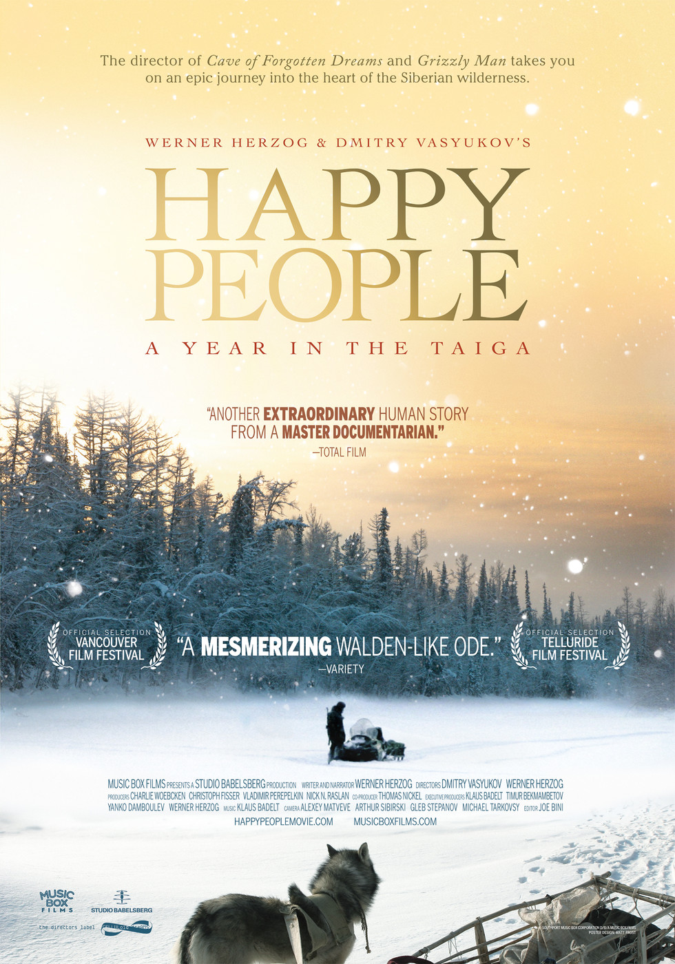 Happy People - Movie Poster #1 (Large)
