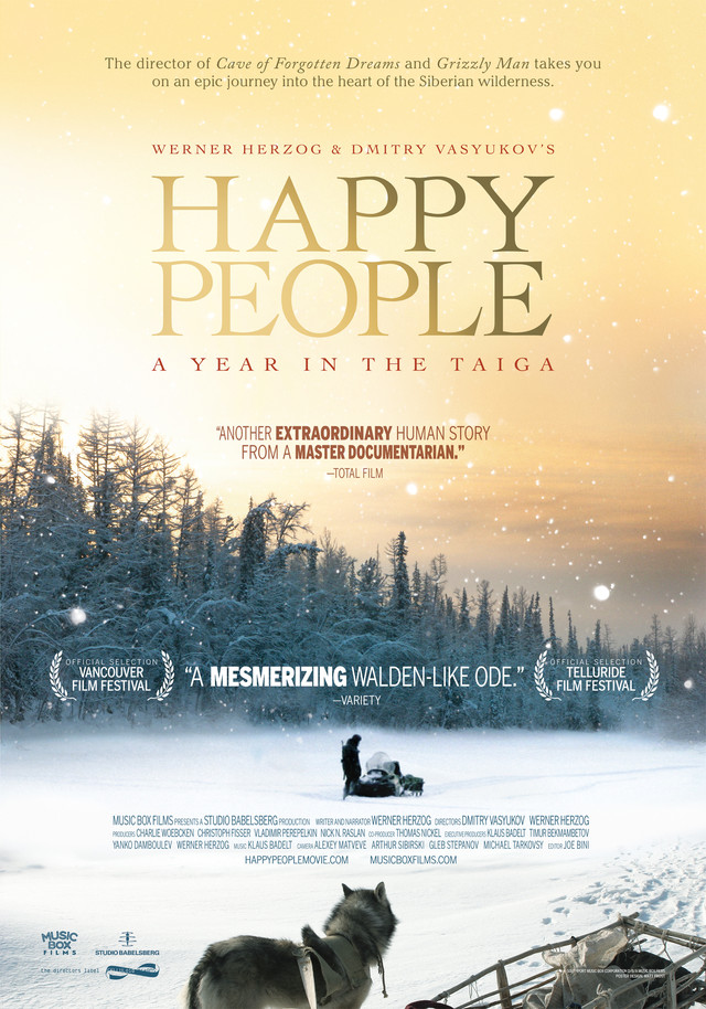 Happy People - Movie Poster #1 (Medium)