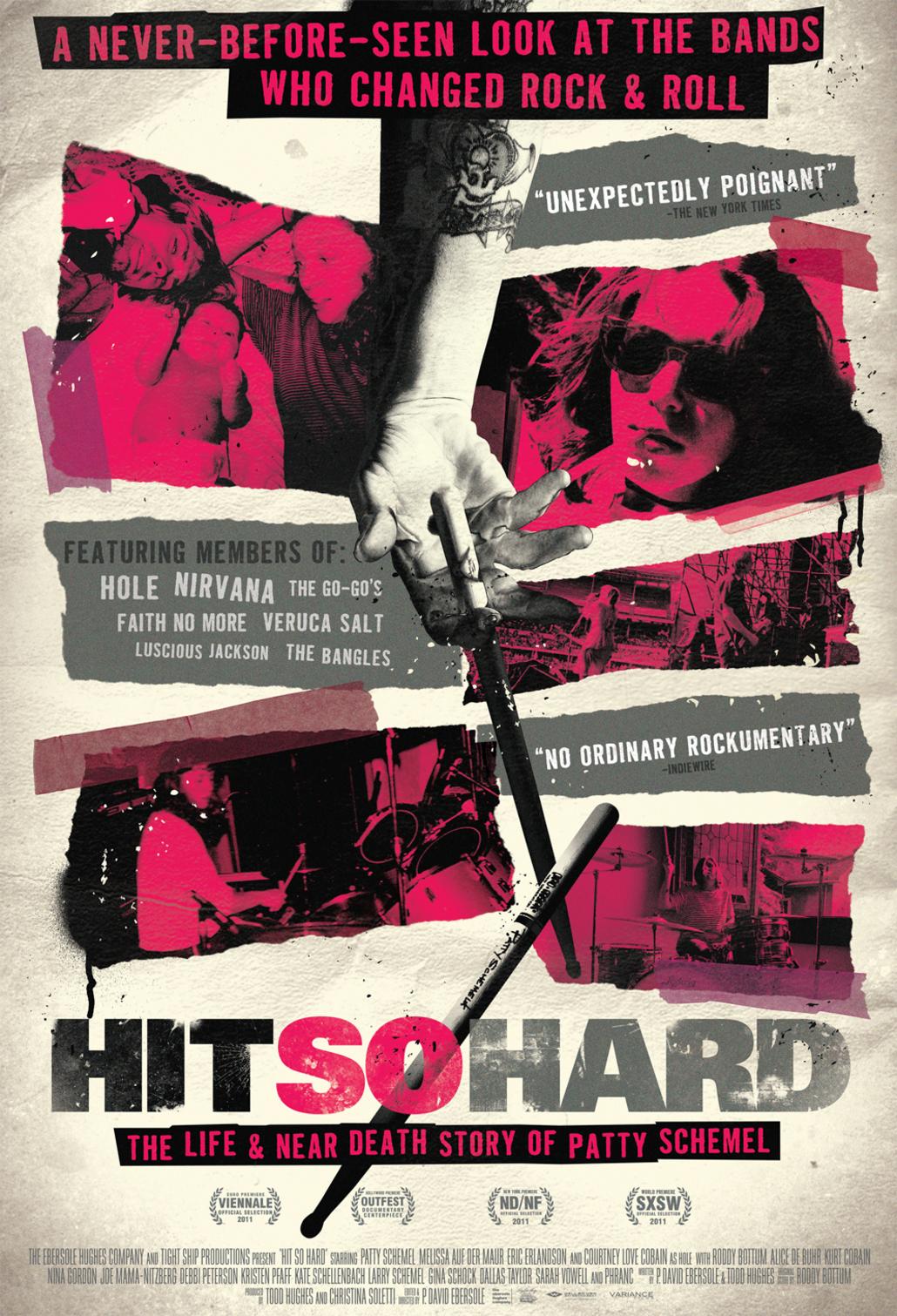 Hit So Hard - Movie Poster #1 (Original)