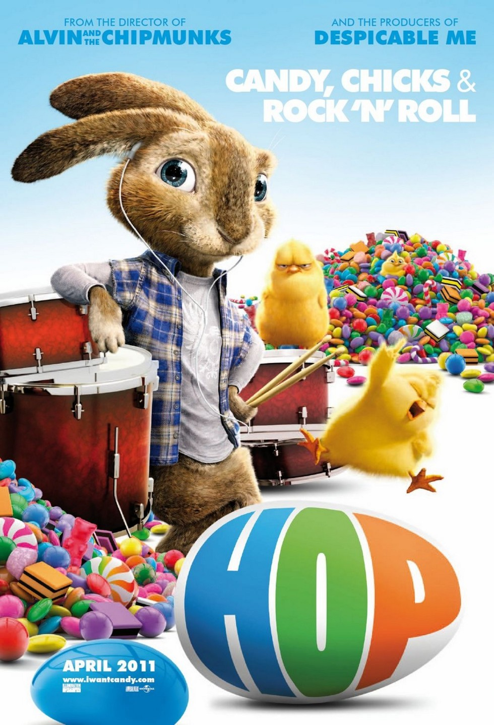 Hop - Movie Poster #1 (Large)