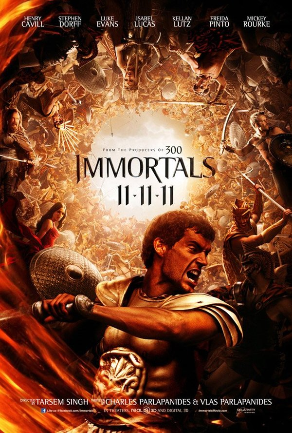 Immortals - Movie Poster #1 (Original)