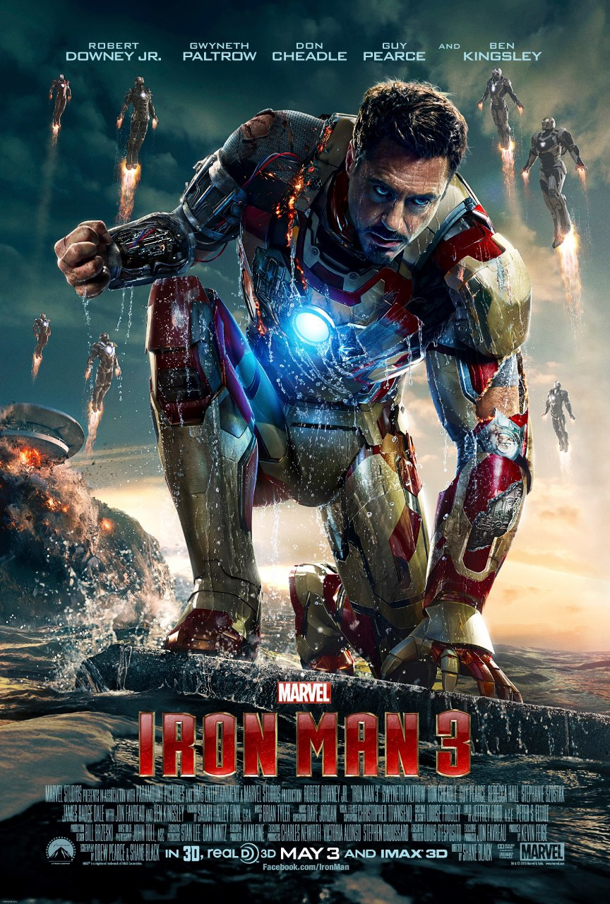Iron Man 3 - Movie Poster #2 (Original)